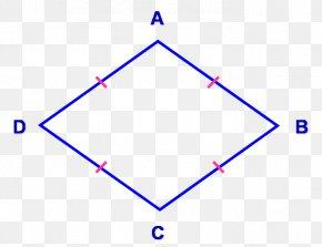 Shape - Rhombus Quadrilateral Parallelogram Geometry Shape PNG