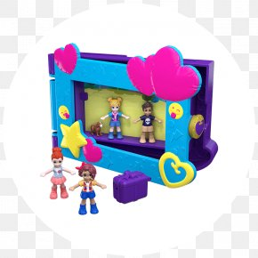 Polly Pocket - Polly Pocket Toy Barbie Playset PNG