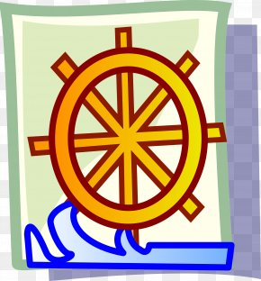 Steering Wheel - Water Wheel Computer Icons Ship's Wheel Clip Art PNG