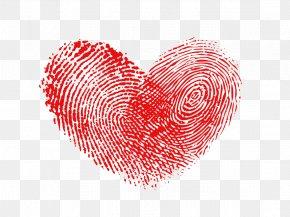 Fingerprint Heart - Heart Fingerprint Raster Graphics PNG