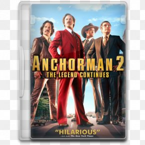 Anchorman 2 The Legend Continues - Poster Muscle Album Cover Advertising Film PNG