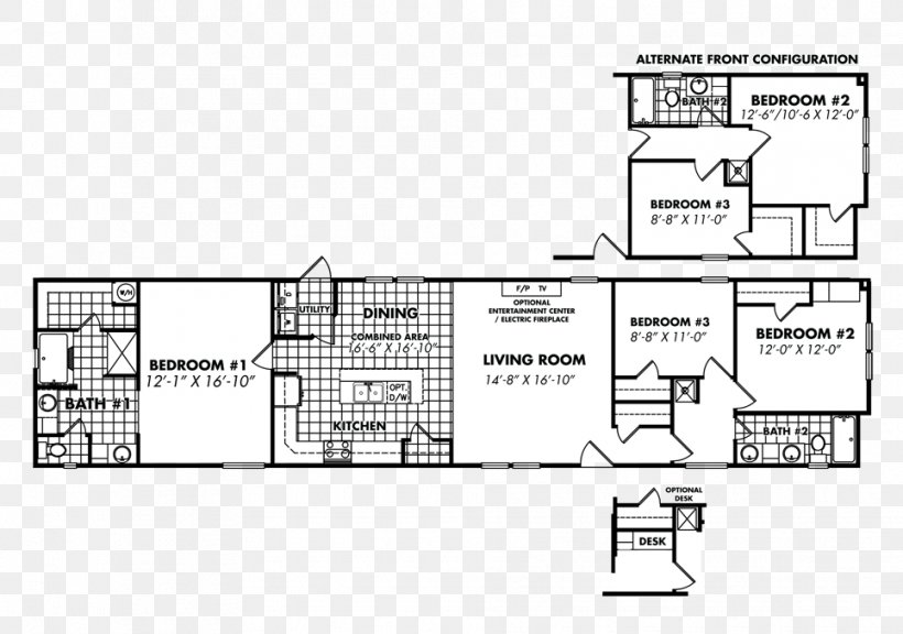 Floor Plan Mobile Home House Manufactured Housing Png