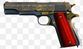 Gun - Handgun Firearm Pistol .45 ACP Trigger PNG