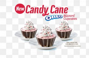 Soft Ice Cream - Cupcake Ice Cream Cake Dairy Queen Candy Cane PNG