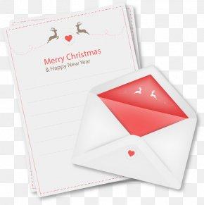Reindeer Christmas Letter - Santa Clauss Reindeer Santa Clauss Reindeer Christmas PNG