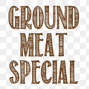 Ground Meat - Adaptable Greeting & Note Cards Logo Text Font PNG