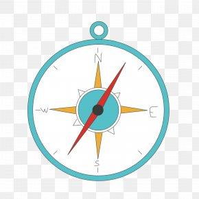 Cartoon Compass - Clip Art PNG