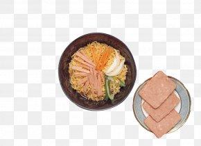 Ham Picture Noodles - Instant Noodle Asian Cuisine Vegetarian Cuisine Ham Chinese Noodles PNG