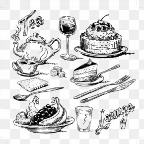 Artwork Food - Food Drawing Illustration PNG