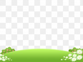 Flowers On The Grass - Child Download PNG