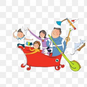 Cartoon Family - Cartoon Family Comics Child PNG