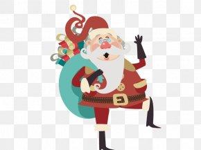 Vector Santa Claus - Santa Claus Christmas Decoration Cartoon PNG