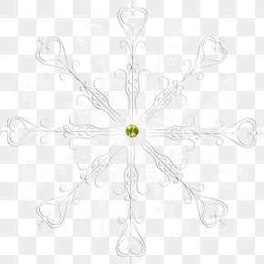 Line - Floral Design White Symmetry Pattern PNG
