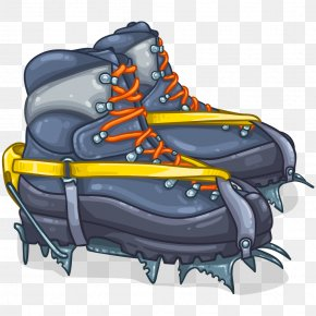 Expedition - Mountaineering Boot Climbing Sneakers Hiking Boot PNG