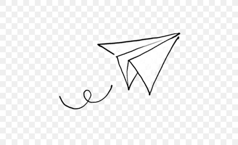 Paper Plane Airplane Clip Art Drawing Png 500x500px Paper