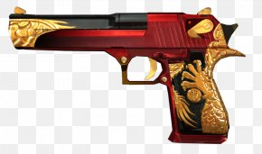 Weapon - Revolver IMI Desert Eagle Pistol Weapon Firearm PNG