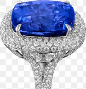 Sapphire - Sapphire Ring Carat Diamond Jewellery PNG