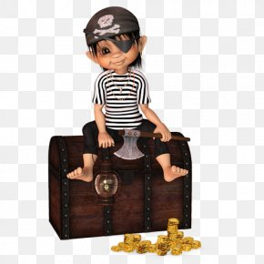 Hand-painted Caribbean Pirate Boy - Piracy In The Caribbean Pirate Party Treasure PNG