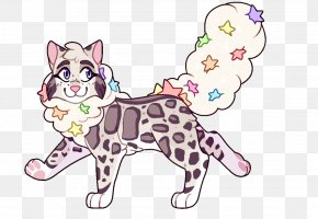 Clouded Leopard - Whiskers Kitten Cat Clouded Leopard PNG