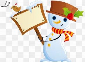 Christmas Snowman Vector Material - Snowman Euclidean Vector Clip Art PNG