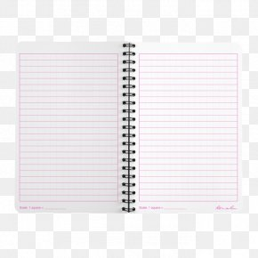 Notebook - Waterproof Paper Notebook Spiral Pattern PNG