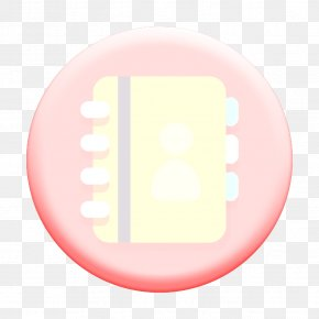 Pink Contacts Icon - Address Book Icon Contacts Icon PNG