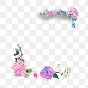 Flower - Borders And Frames Floral Design Flower Clip Art Image PNG