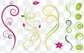 Tree Buds - Flower Vine Drawing Clip Art PNG