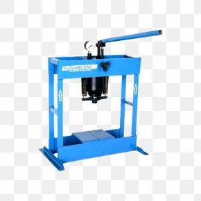 Hydraulic Press Hydraulics Metric Ton Tool Piston PNG