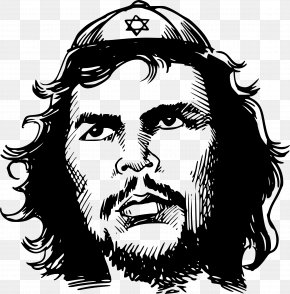 Masculine - Che Guevara Jewish People Star Of David Clip Art PNG