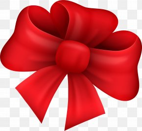 Little Fresh Red Bow Tie - Red With Ribbon Knot PNG