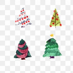 Creative Christmas Tree Cutout Free - Christmas Tree Christmas Ornament Christmas Decoration Christmas Gift PNG