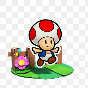 Mario - Super Paper Mario Mario Bros. Paper Mario: Color Splash Toad PNG