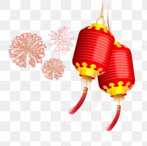 Fireworks Lantern - Chinese New Year Lantern Festival First Full Moon Festival New Years Day PNG