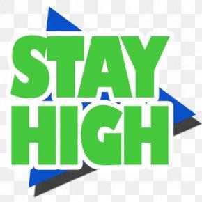 Stay High - Logo Brand Organization Font PNG