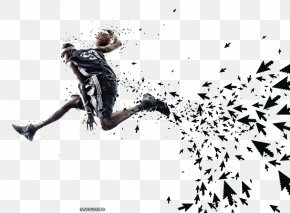Man With Basketball - The Crossover Advertising Idea Creativity PNG