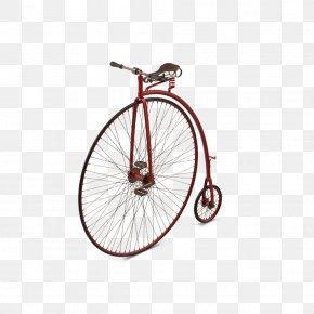 Penny Farthing Bicycle Pedal - Bicycle Wheel Bicycle Frame Bicycle Saddle PNG