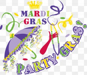 Mardi Gras - Mardi Gras In New Orleans Mardi Gras 2018 Parade PNG