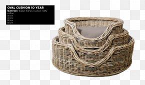 Wire Basket - Basket Rattan Reed Rotan Oval PNG