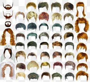 Hair Hair Design Templates - Hairstyle Long Hair Male PNG