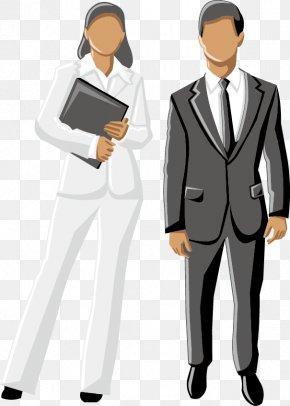 Business Men Women - Business No Clip Art PNG