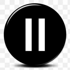 Vector Pause - Brand Logo Circle Font PNG