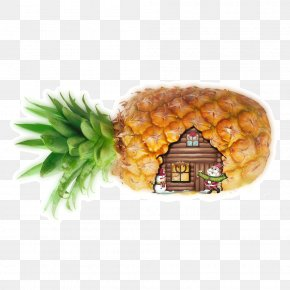 Pineapple House - Pineapple Vegetarian Cuisine Fruit Cottage PNG