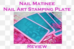 Line - Textile Turquoise Pink M Line Font PNG