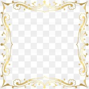 Decorative Border Frame Transparent Clip Art Image - Ornament Clip Art PNG