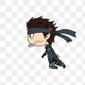 Solid Snake - Black Hair Character Clip Art PNG