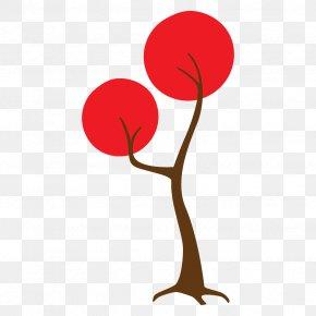 Plant Plant Stem - Red Tree Clip Art Plant Stem Plant PNG