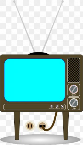 Retro TV - Television Free-to-air Clip Art PNG