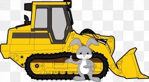 Bulldozer - Clip Art: Transportation Illustration Caterpillar Inc. Openclipart PNG