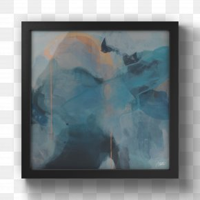 Painting - Watercolor Painting Modern Art Picture Frames PNG